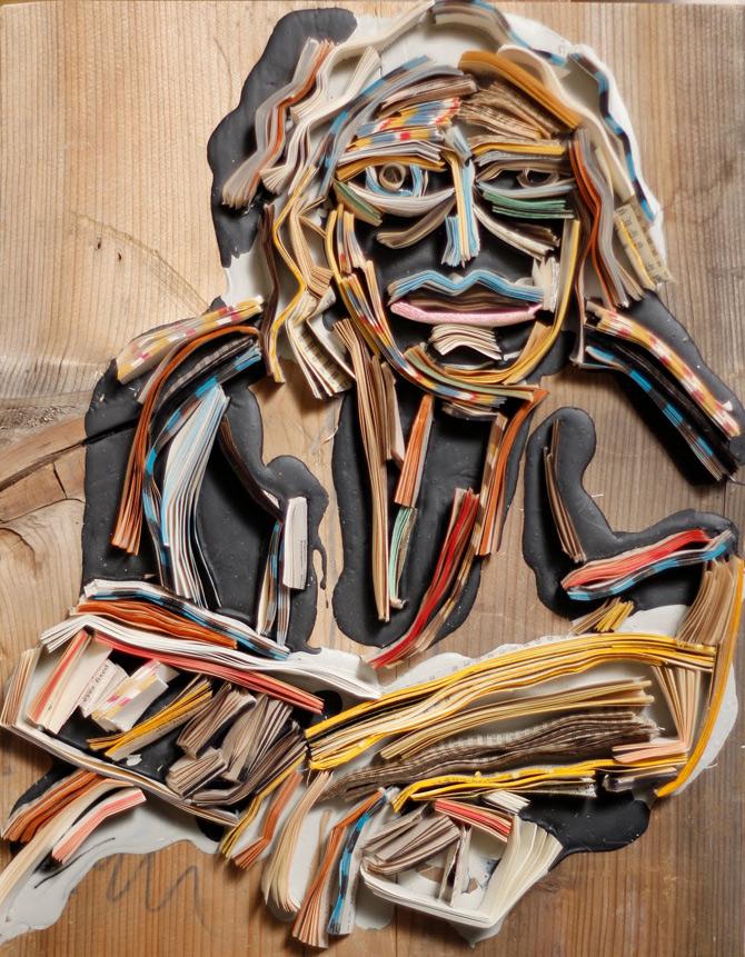 Portrete reciclate de Nick Georgiou - Poza 6