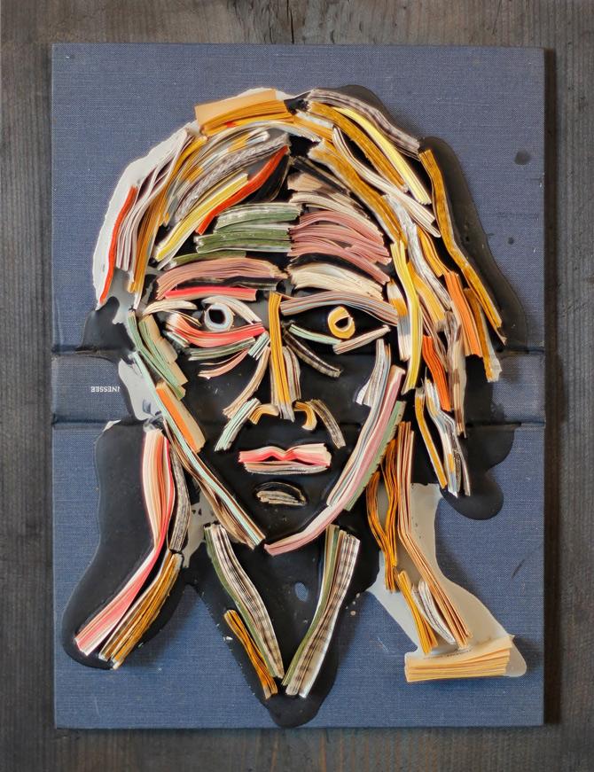 Portrete reciclate de Nick Georgiou - Poza 13
