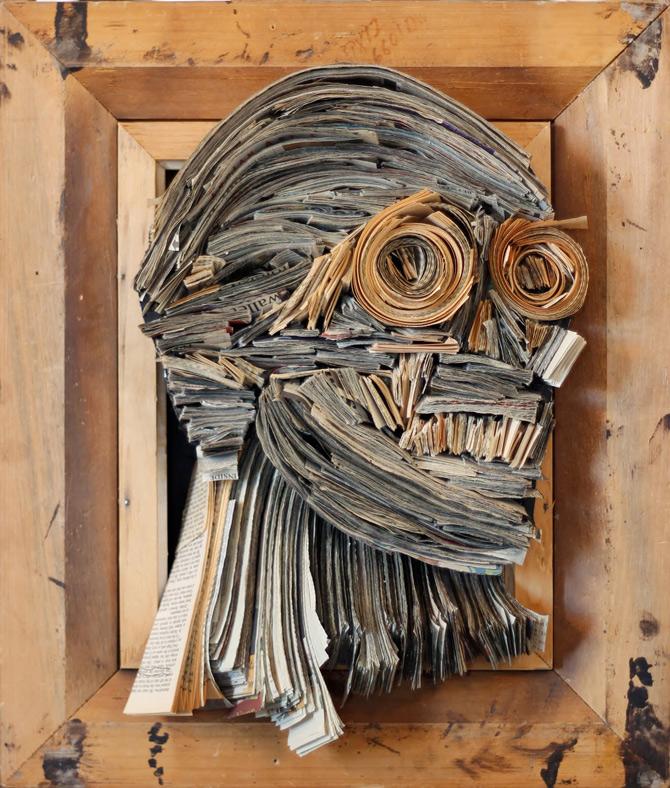 Portrete reciclate de Nick Georgiou - Poza 14