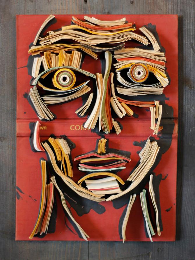 Portrete reciclate de Nick Georgiou - Poza 16