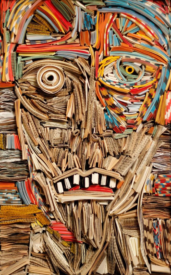 Portrete reciclate de Nick Georgiou - Poza 18
