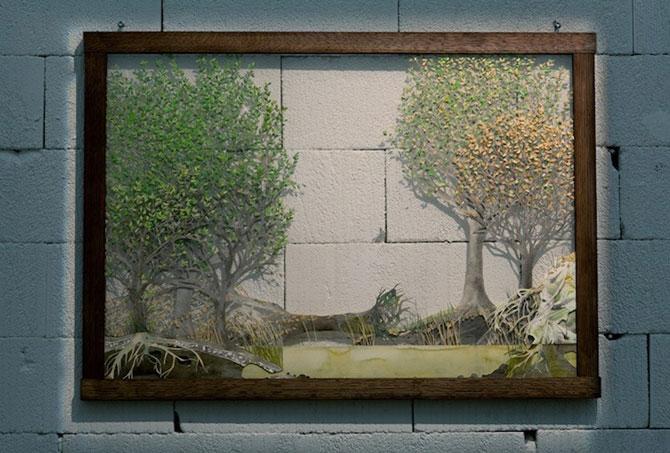 Arta cu natura si carti, de Johannes Helden - Poza 5