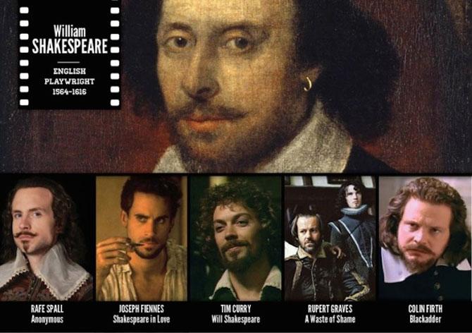 Mai multi actori pentru o singura vedete: Colaje