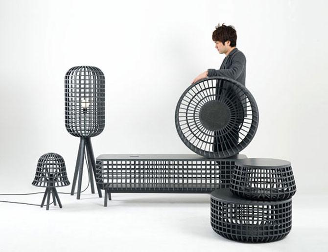 Cosuri, mobila si lumina complet eco, de Seung Yong Song - Poza 6