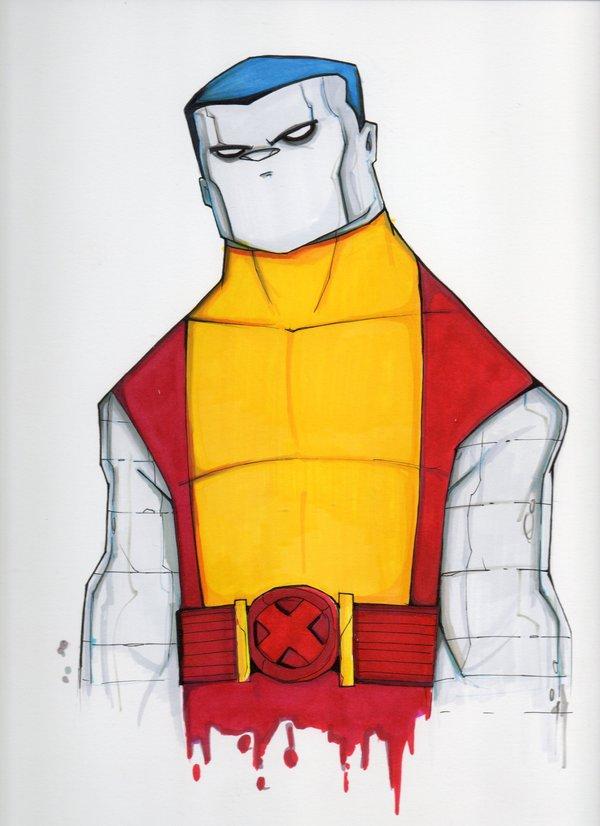 Viziune unica a eroilor de benzi desenate