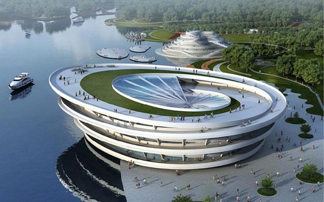 Tone de imaginatie in concepte de arhitectura - Poza 1
