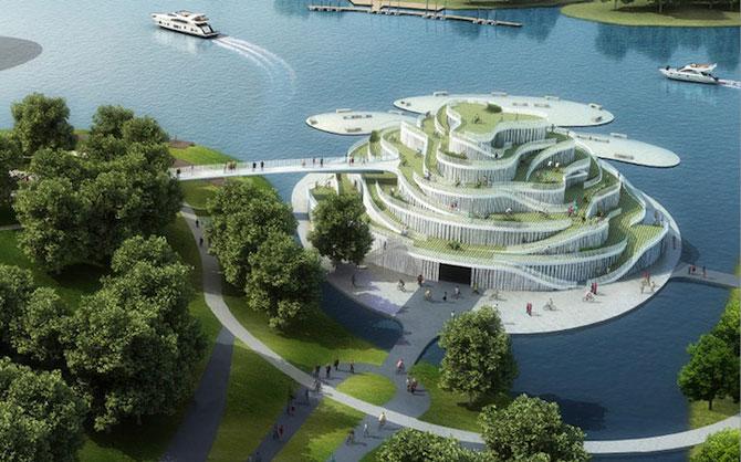Tone de imaginatie in concepte de arhitectura - Poza 2
