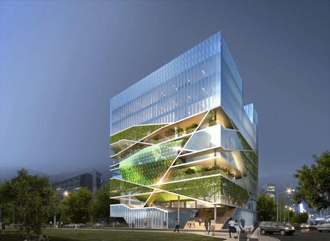 Tone de imaginatie in concepte de arhitectura - Poza 5
