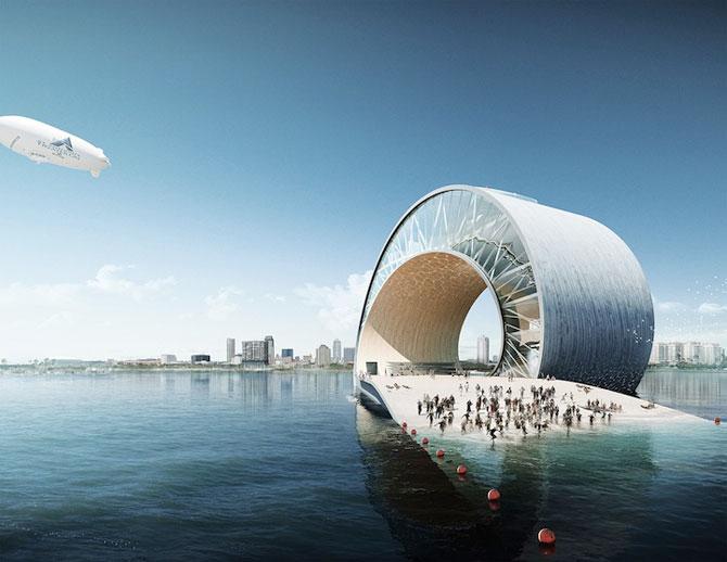 Tone de imaginatie in concepte de arhitectura - Poza 7