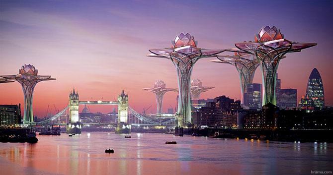 Tone de imaginatie in concepte de arhitectura - Poza 13