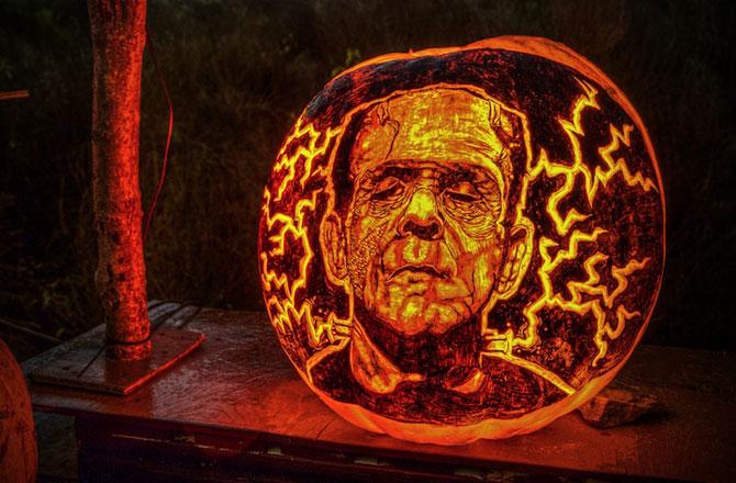 Concurs de dovleci de Halloween, in Rhode Island - Poza 1
