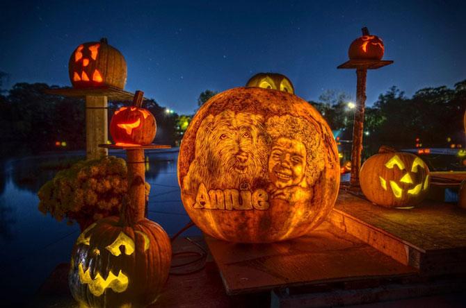 Concurs de dovleci de Halloween, in Rhode Island - Poza 2