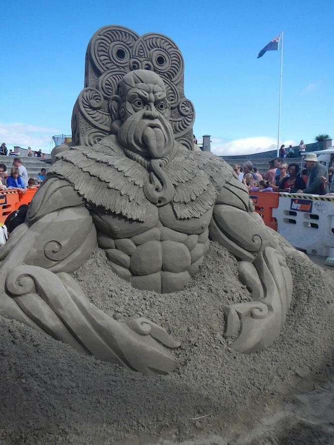 Concursul de sculpturi in nisip din Noua Zeelanda - Poza 2