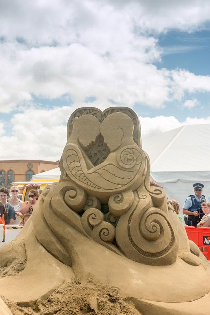 Concursul de sculpturi in nisip din Noua Zeelanda - Poza 3