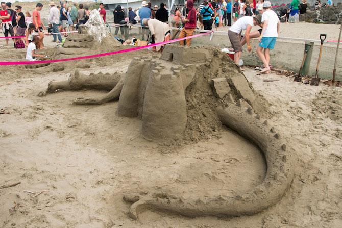 Concursul de sculpturi in nisip din Noua Zeelanda - Poza 5