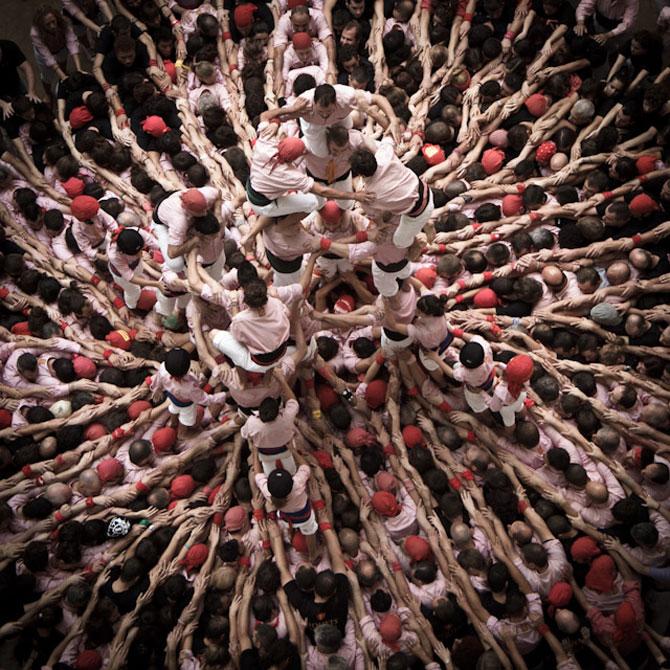 Turnul uman de la Tarragona, Spania, 2012 - Poza 4