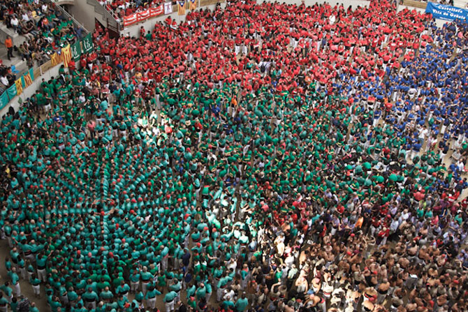 Turnul uman de la Tarragona, Spania, 2012 - Poza 6