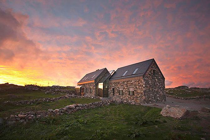 Doua casute irlandeze de piatra intr-una: Connemara Residence - Poza 1