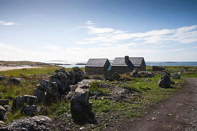 Doua casute irlandeze de piatra intr-una: Connemara Residence - Poza 11