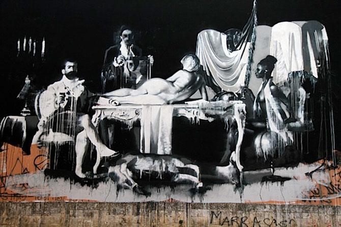 Conor Harrington picteaza fresce contemporane pe peretii italienilor - Poza 2