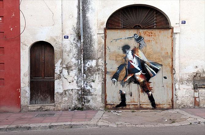 Conor Harrington picteaza fresce contemporane pe peretii italienilor - Poza 3