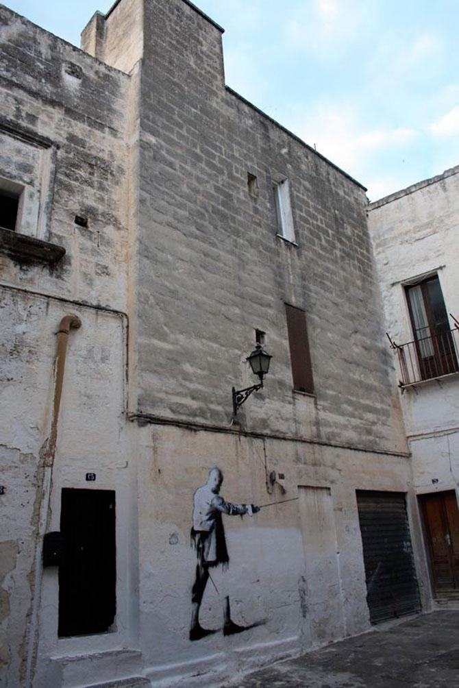 Conor Harrington picteaza fresce contemporane pe peretii italienilor - Poza 7