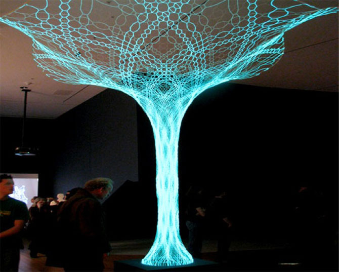 Copacul sensibil de la Muzeul de Arta Moderna, New York - Poza 1