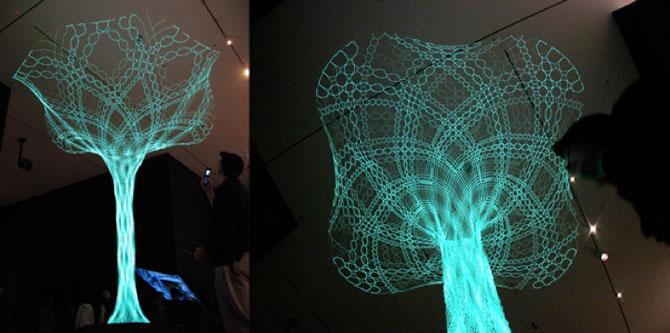 Copacul sensibil de la Muzeul de Arta Moderna, New York - Poza 4