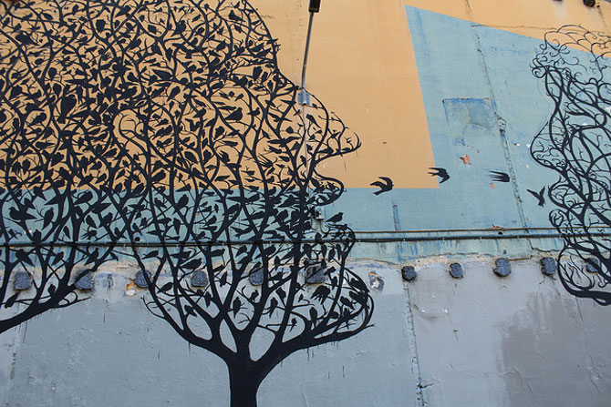 Padure de copaci vorbitori la Barcelona - Poza 2