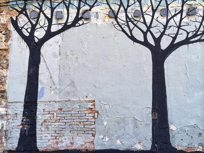 Padure de copaci vorbitori la Barcelona - Poza 3