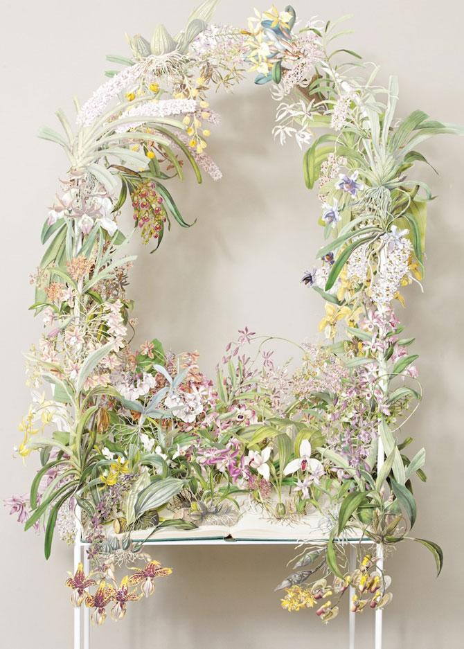 Coronite de flori din hartie, de Su Blackwell - Poza 1