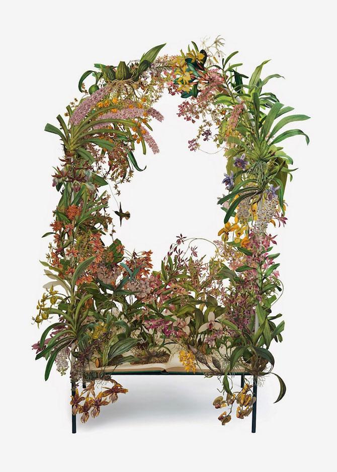 Coronite de flori din hartie, de Su Blackwell - Poza 2