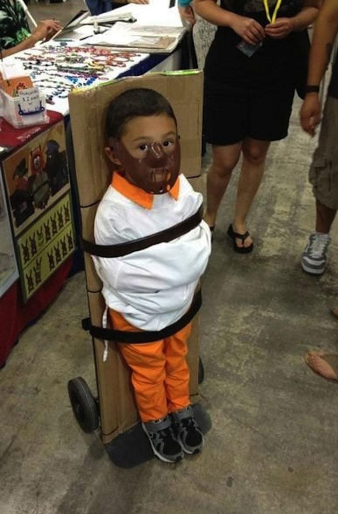 Altfel de costume de Halloween pentru copii - Poza 7