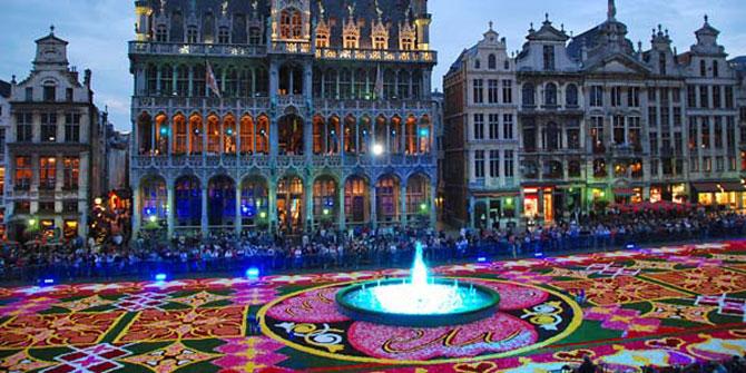 Covorul de flori de la Bruxelles - Poza 7