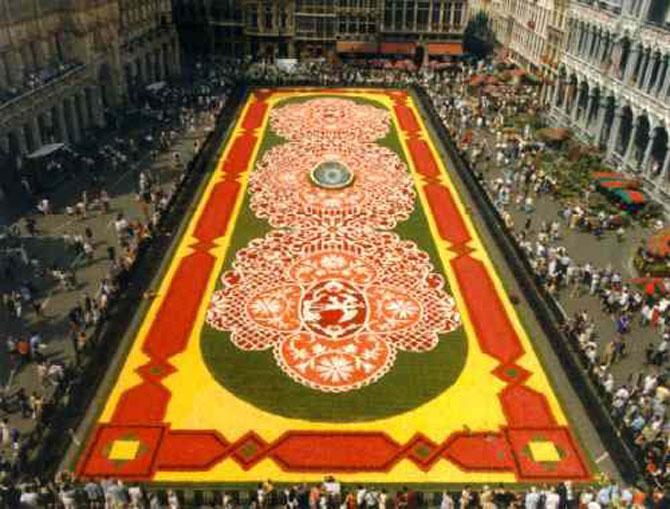 Covorul de flori de la Bruxelles - Poza 8