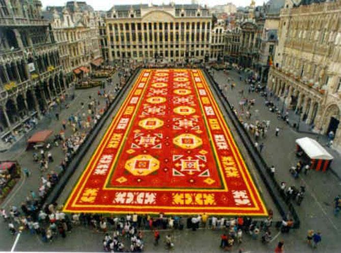 Covorul de flori de la Bruxelles - Poza 9