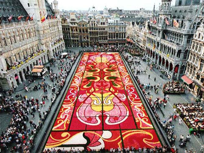 Covorul de flori de la Bruxelles - Poza 10