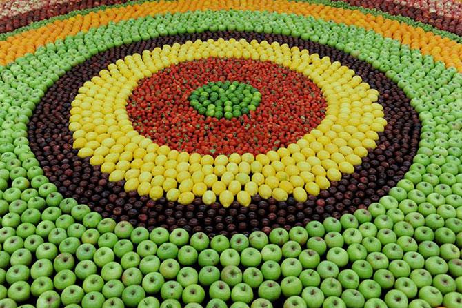 Un covor din fructe pentru Kenzo - Poza 3
