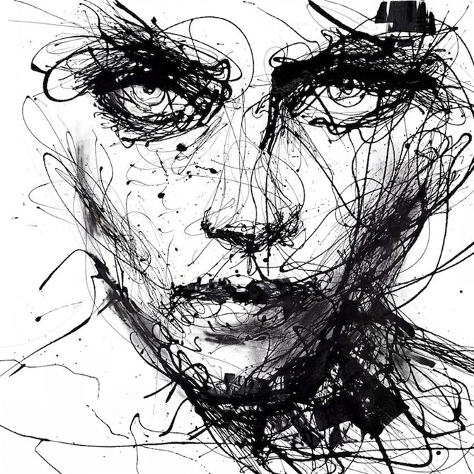 Portrete din cerneala, de Agnes-Cecile
