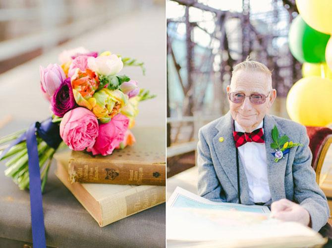 61 de ani de casnicie, aniversati in stilul Up! - Poza 2