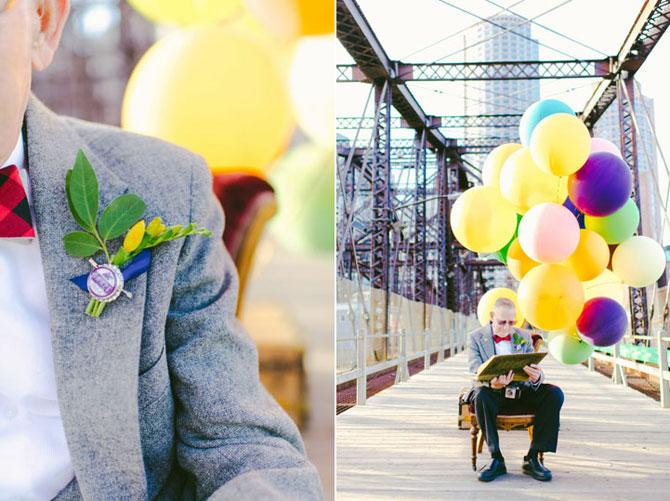 61 de ani de casnicie, aniversati in stilul Up! - Poza 3