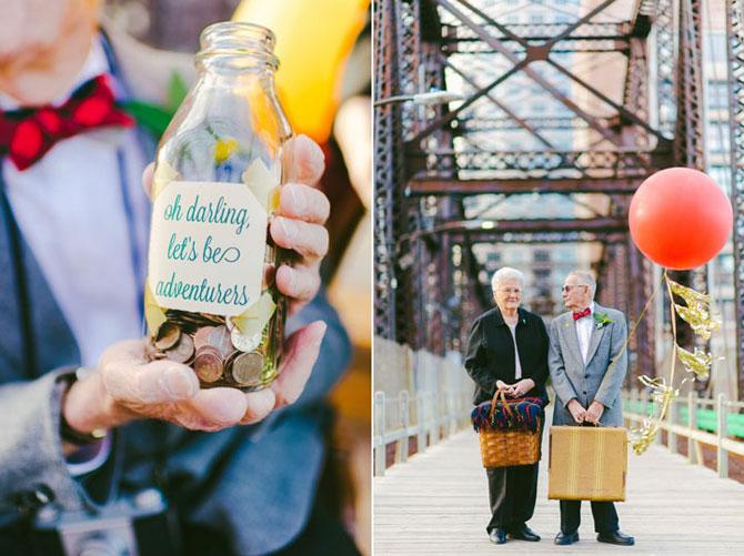 61 de ani de casnicie, aniversati in stilul Up! - Poza 6