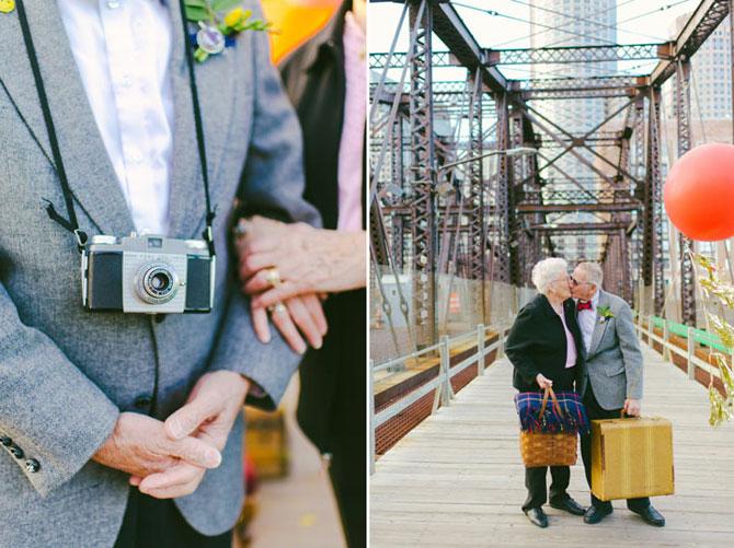 61 de ani de casnicie, aniversati in stilul Up! - Poza 7