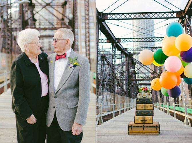 61 de ani de casnicie, aniversati in stilul Up! - Poza 10