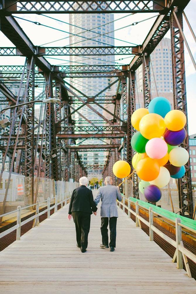 61 de ani de casnicie, aniversati in stilul Up! - Poza 13