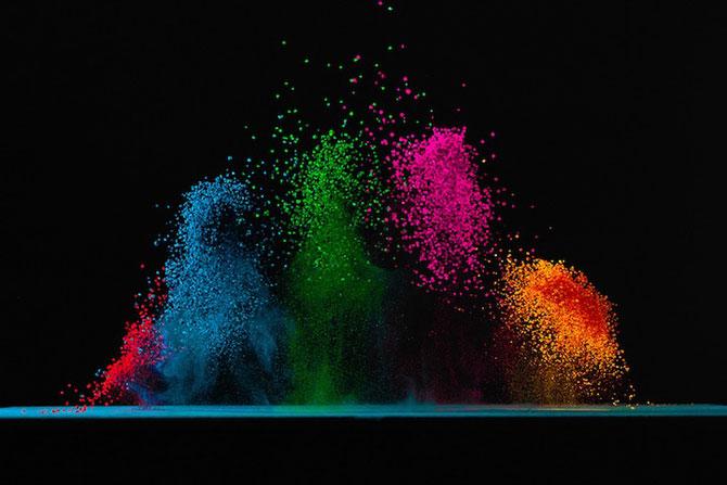 Culorile lui Fabian Oefner danseaza