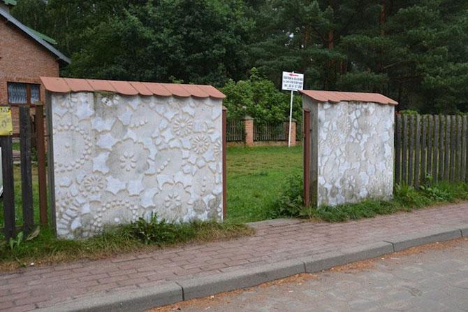 Varsovia dantelata de o artista urbana - Poza 8