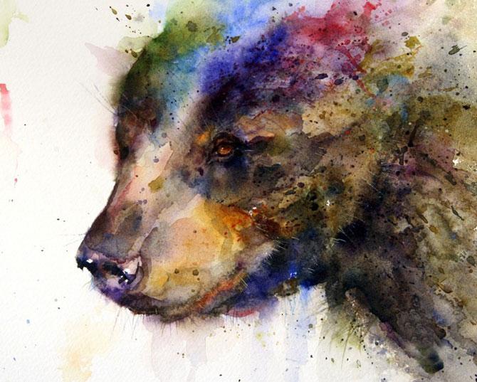 Animale in acuarele ireale, de Dean Crouser - Poza 1