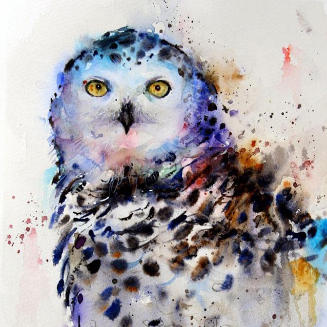 Animale in acuarele ireale, de Dean Crouser - Poza 6