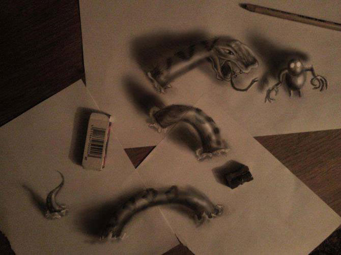 Iluzii intre 2D si 3D de Ramon Bruin - Poza 1
